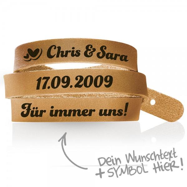 Wickelarmband-mit-Gravur-gestalten-Echt-Leder-Armband-graviert-Wunschtext-Unisex